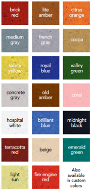 Certi-Shine Color Chart for MicroStain